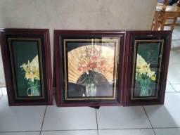 Vendo esses 3 lindos quadro para decoração da sua casa