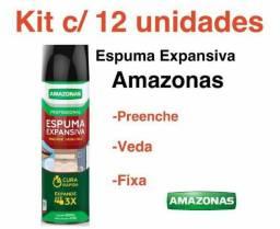 Espuma expansiva amazonas 500 ml 470 gramas