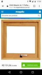 Vitro /janela de banheiro