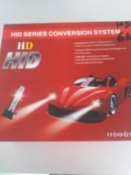 Kit xenon h3 6000k novo na embalagem comprar usado  Curitiba