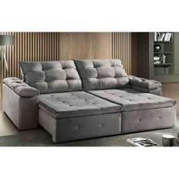 Sofa retratil zeus 2.30m *garanta ja o seu - oferta peçaa agora mesmo *- Aproveite