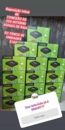 TVBOX choki 4K 5G 32G INTERNOS