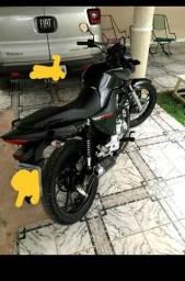 Troco fan 160 por uma moto alta - 2019