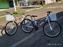 Bicicleta Aro 26 Track Bikes Thunder Mountain Bike com 18 Marchas