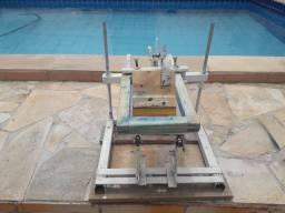 Máquina para silk screen de copos e  canecas
