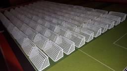 Traves PVC Rígido Níver Futebol Artesanato (Lote 50 peças)