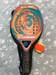 Raquete Beach Tennis Camewin NOVA!
