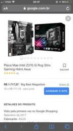 Asus Rog Strix Gaming Hdmi Z370-G Gaming