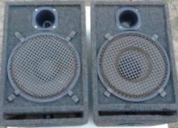 Caixas Acústicas Profissionais com Cornetas e Falante de 12