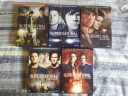 Dvds Supernatural/Sobrenatural
