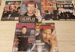 Lote 17 Revistas Rolling Stone Wally Linkin Park