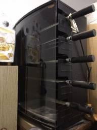 Assador Elétrico Rotativo Arke Vitta Smart 05 - 5 Espetos Acendimento Automático