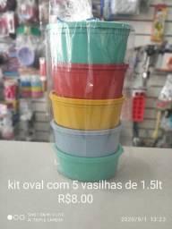 Trabalho com Vasilha de Plastico