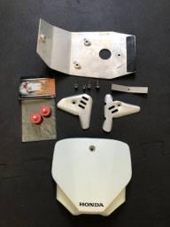 Crf 230 Plate Tampa suspensão Protetores
