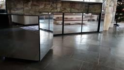 Mesa de canto espelhada Tok Stok