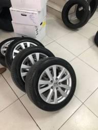 Jogo roda 16 ? Civic 2014 muito novas com pneus Michelin