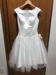 Vendo vestido curto noiva/15 anos