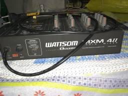 mesa de som wattsom 4 canais.