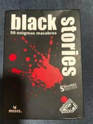Jogo de cartas BLACK STORIES