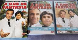 Dvd Box A Ilha Da Fantasia -  ORIGINAL- 1ª Temp - 4 Discos