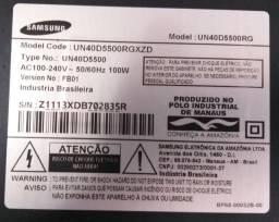 Samsung UN40D5500 para retirada de peças