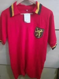 Camisa Bélgica futebol Retrô