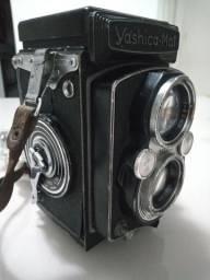 Câmera antiga Yashica Mat Copal MXV