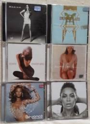 Cd Madonna - Jennifer Lopez - Beyoncé - Mariah R$ 10 cada