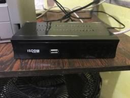 Conversor digital com antena sem controle