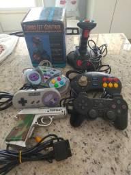 Controles videogames Playstation super Nintendo