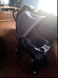 Carrinho de bebê passeio chicco neuvo stroller grafite
