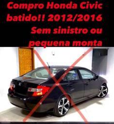 Honda civic 2012/2016