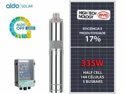 Kit completo bomba irrigação / bombeamento solar sem estrutura Aldo Solar 10 x 780,00