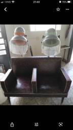 Secador syluz antiguidade com poltrona
