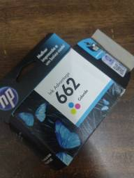 2 Cartuchos coloridos HP 662