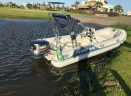 Vendo barco com motor 2009