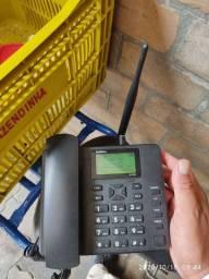 TELEFONE CELULAR RURAL INTELBRAS CF5002! POUCO USO!