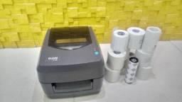 Impressora de etiqueta Elgin L42 Ribbon e Térmica