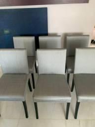 Cadeiras de tecido