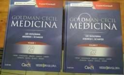Livro Medicina Goldman Cecil 25 Ed (seminovo)