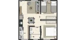 Vendo apartamento em Sertãozinho 3°andar