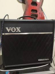 Amplificador p/ guitarra pré valvulado VOX VT40+ valvetronic