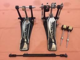 Pedal Duplo Odery Fluence Series - Seminovo em estado de ZERO!