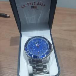 Relógio masculino Us Polo Assn Original NOVO