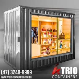 Container 3M - Modelo Loja