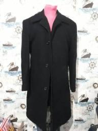 casaco lã batida tam 46 60,00