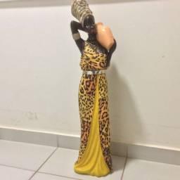 Escultura africana 90 cm