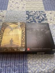 Pacote com Dvds, Got e Livros