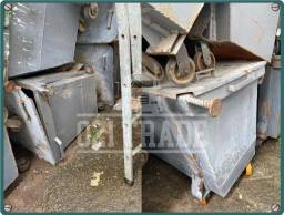 Caixa Container de Lixo - Metal 1.200 Litros