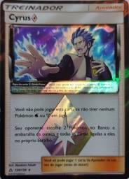 Oferta! Carta Pokémon - Treinador - Cyrus - Apoiador 120/156